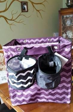 Thirty-One Gifts - 2 Oh Snap Bins make a great addition to the Square Storage Bin!
