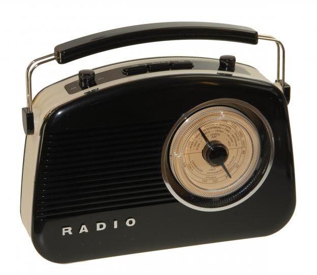 Radio sintonizador portátil estilo retro #retro #vintage #radios #musica #sintonizador #antiguo