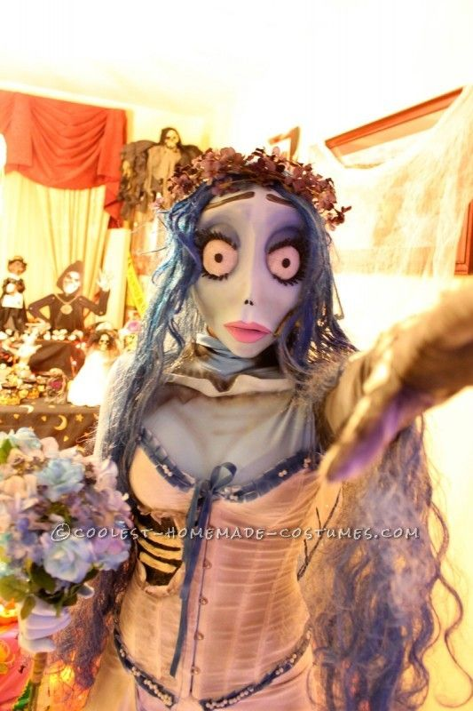 OMG this is impressive!  Awesome Handmade Tim Burton's Corpse Bride Costumes ...This website is the Pinterest of costumes