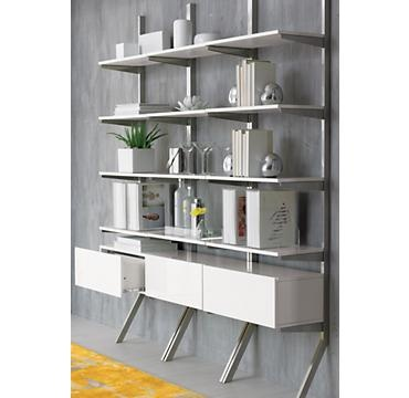 kickstand wall shelf