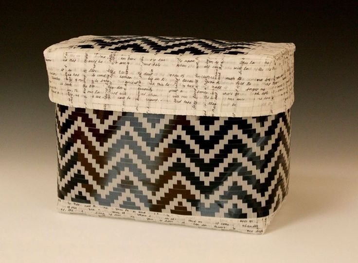 Abstract Native American Basketry
