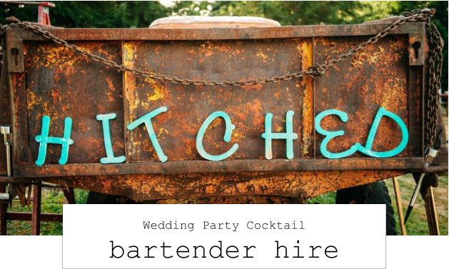 Hire a bartender for your wedding in Cardiff www.hireabarman.com