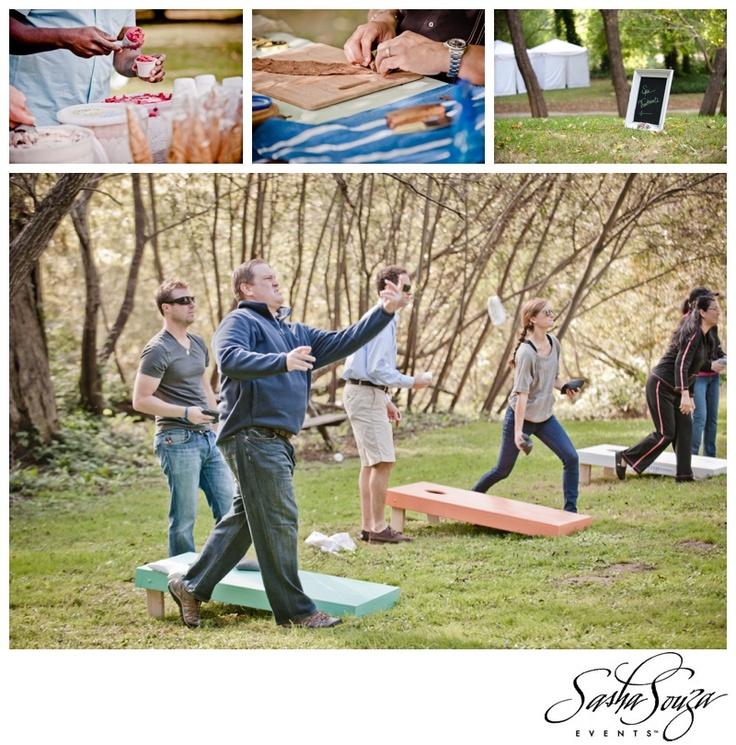 Wedding Games. Wedding of Candice & Chip – The Ceremony & Wedding Brunch » Sparkliatti