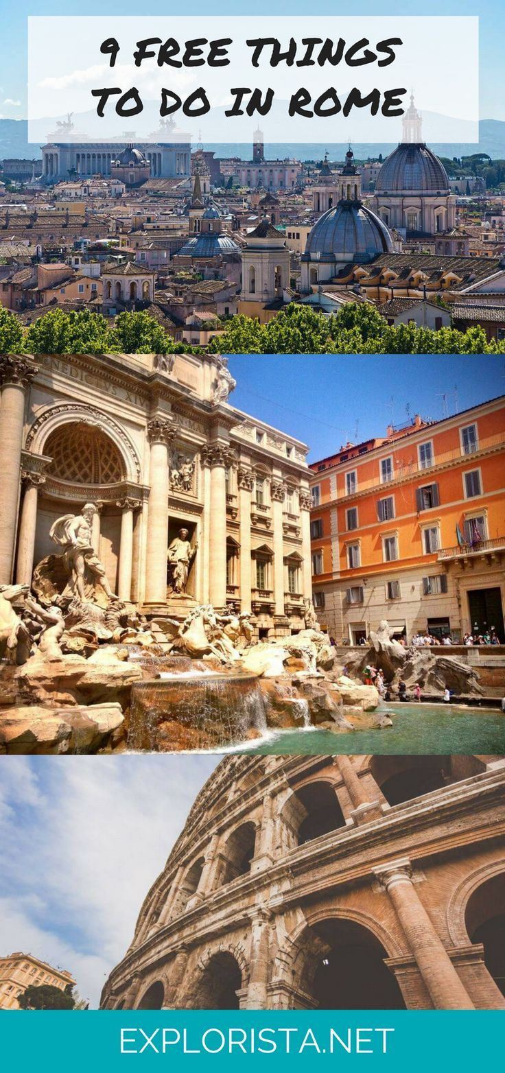 9 Cool + Free Things to Do In Rome, Italy via Explorista