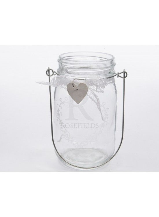 Glass Tealight w Metal Handle @ rosefields.co.uk chic_boutique_homeware £4.99