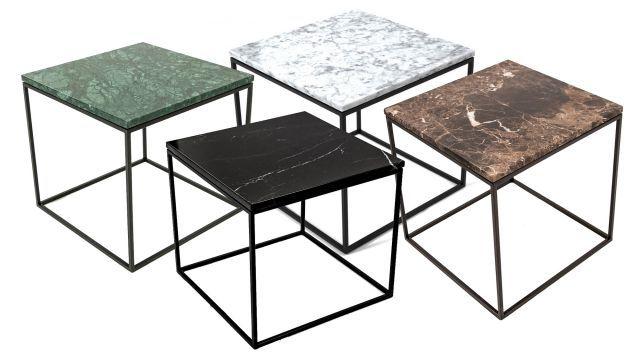 Jaguaren - Soffbord i marmor 50x50cm