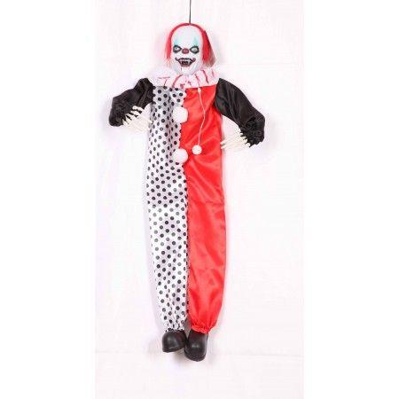 Hanging Shaking Clown Prop