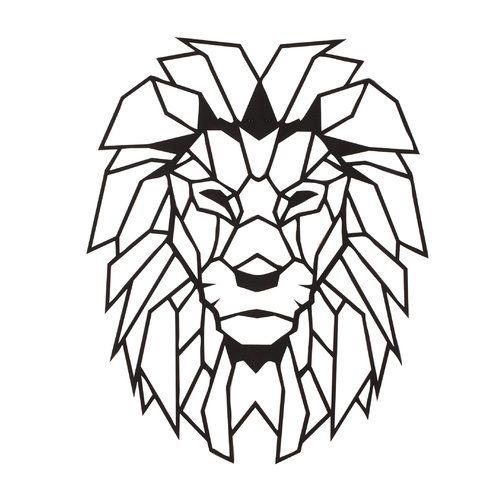 Wall decoration Lion Order now at: moebel.ladendirek … #tattoos #wall #dekor