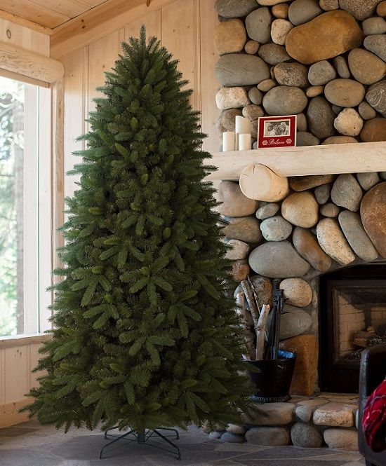 Classic Fraser Fir Artificial Christmas Tree, 6.5 Feet, Unlit