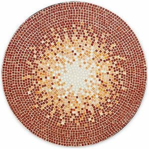Free Mosaic Patterns for Tables | mosaic table red taking a note from the gorgeous mosaic designs