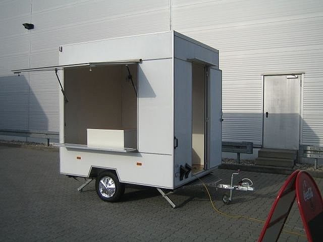 Trailor Verkaufsanhänger Verkauf Imbiss Grill Allzweck, Anhänger Verkaufsanhänger in Berlin - Hönow, gebraucht kaufen bei AutoScout24 Trucks