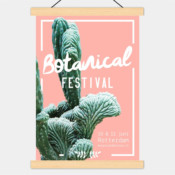 NIEN // Poster Botanical Festival