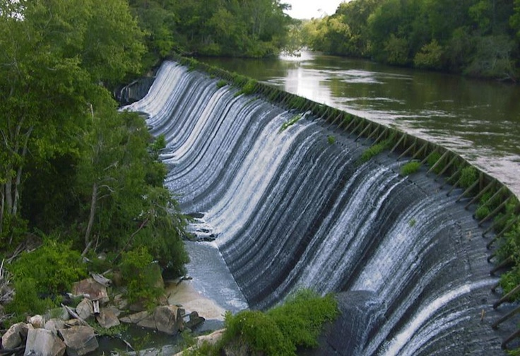 waterfall.Columbia,South Carolina,USA