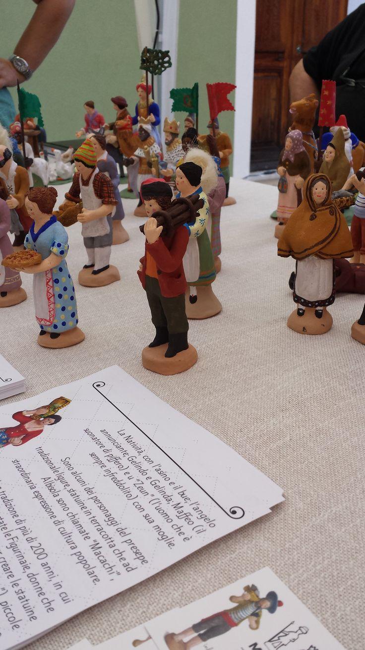 Le nostre figurine in mostra ad Albissola Magna - 18 luglio 2014