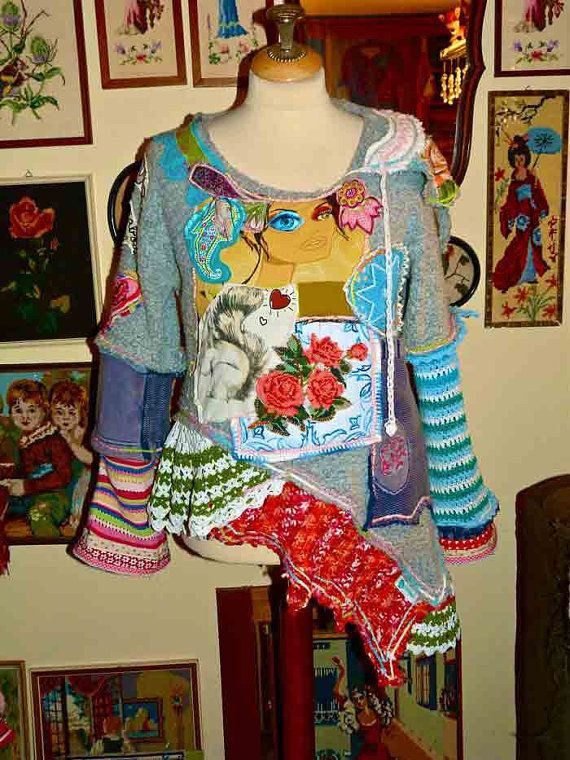 Sweater fantasy made of existing materials Clothing by lodicha, €209.00