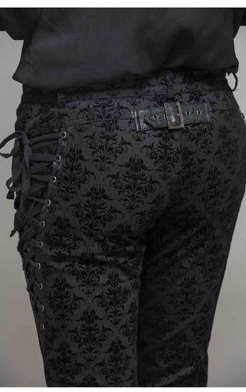 Devil Fashion Trad Goth Mens Dorian Trousers