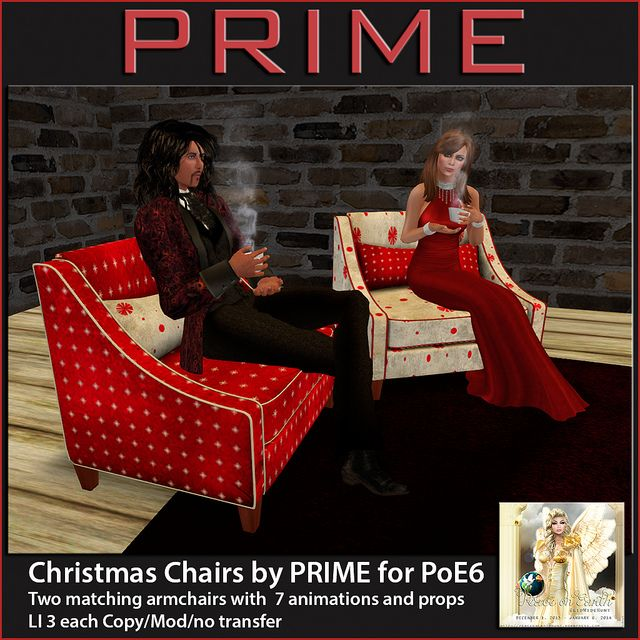 Christmas Chairs by PRIME for PoE6   Flickr - Photo Sharing!