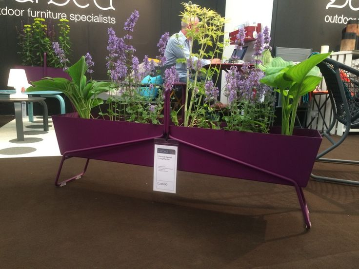 Long planter by @fermob