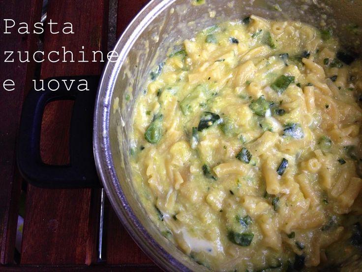 pasta zucchine e uova
