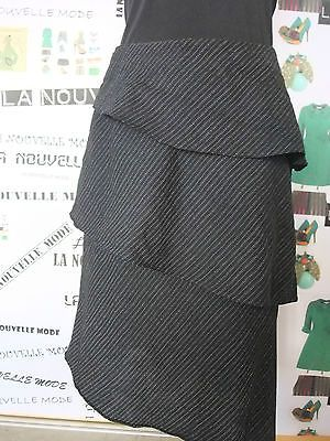 Giorgio Armani gonna nera taglia 42 IT skirt jupe rock falda vintage anni 90 | eBay