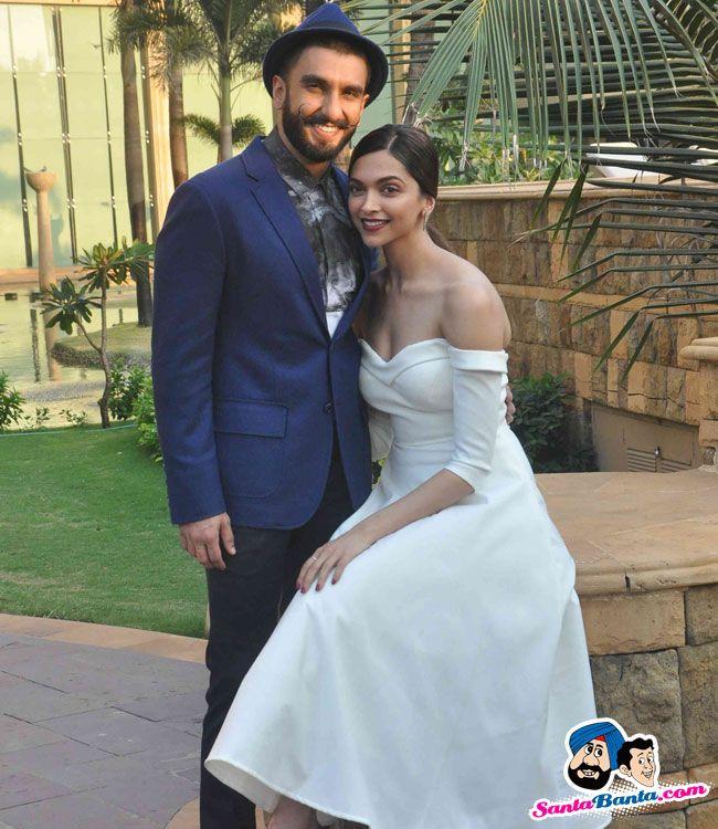 Deepika and Ranveer Promote Bajirao Mastani -- Ranveer Singh and Deepika Padukone Picture # 325129