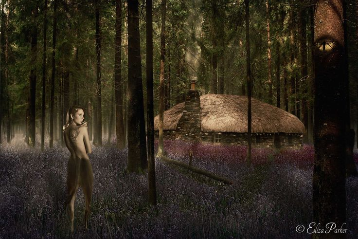 The Unveiled Secret by Eliza Parker (Fantasy Digital Art, Faun)... There is a house deep in the forest where beautiful blue flowers bloom, and a small fireplace burns. This is the home of a gentle faun who was exiled from her tribe for loving another female faun, a forbidden and unspeakable offence. With tears in her eyes, she was banished and had watched as her fellow fauns had all turned from her... - Read the rest @ www.secretimpressions.com