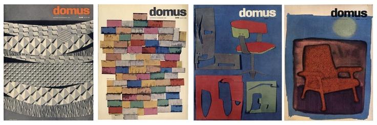 Michele Provinciali - Domus magazine cover design