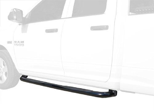 "MaxMate Premium Custom Fit 09-16 Ram 1500 Quad Cab Black 3"" Side Step Rails Nerf Bars Running Boards(2pcs with Mounting Bracket Kit) %SALE% #carscampus"