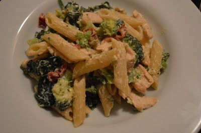 Penne met kip en zongedroogde tomaten recept - Pasta - Eten Gerechten - Recepten Vandaag