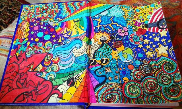 Colourful disaster