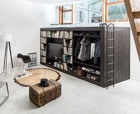 Compact and multifunctional space saving furniture for small room furniture for me - Space saving for small bedrooms model ...