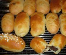Rezept KINDERschokoladen Brötchen von bine1512 - Rezept der Kategorie Brot & Brötchen
