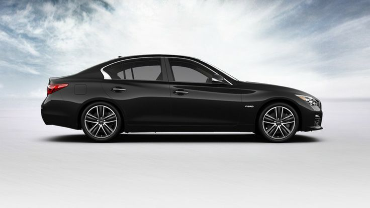 INFINITI-2014 Q50 Hybrid-Exterior Color-Black Obsidian