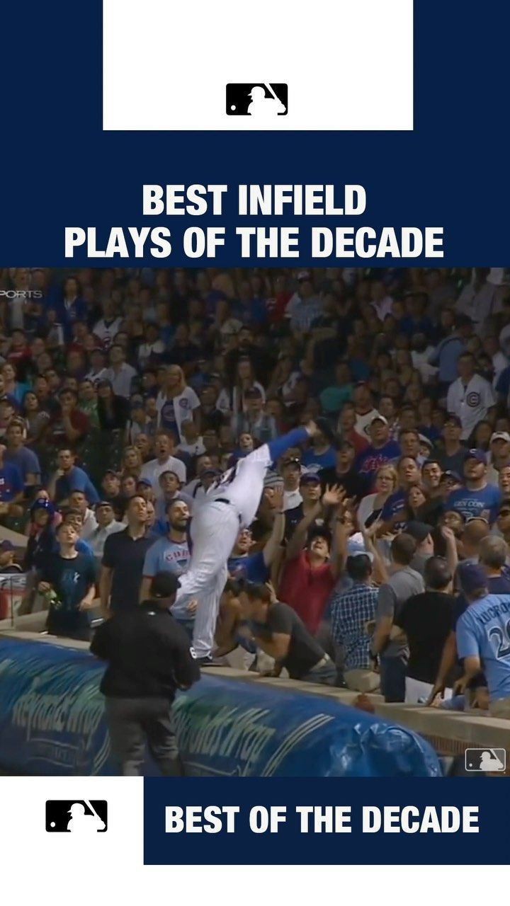 Mlb The Best Infield Plays Of The Decade Will Make You Go From To Good Things Make It Yourself Play