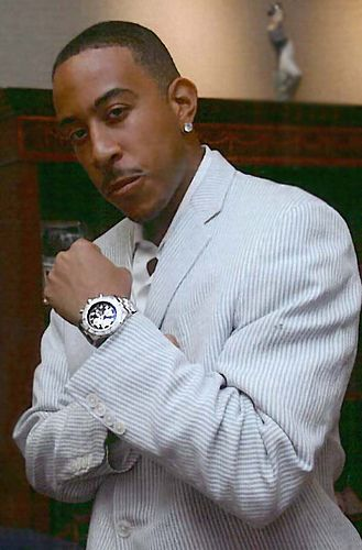 Ludacris and his breitling super avenger hip hop favs pinterest actors rap and celebrity for Actor watches