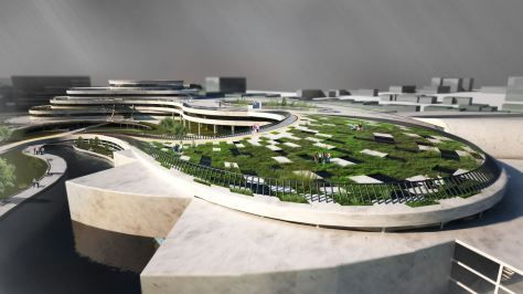 Educational and Sport Centre for Youth by Lusine Baghdasaryan & Aram Shahoyan