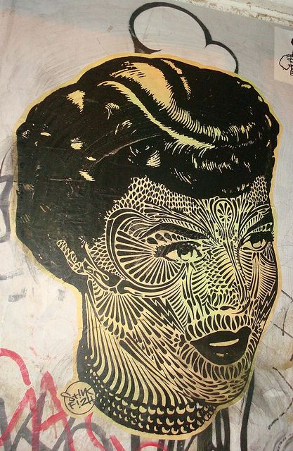 tatooed woman - shorteditch: Lesbian, Design Ii, Art Photography, Street Public Art, Tatoo Design, Heart Art, Street Art, Art Street, Pasted Street