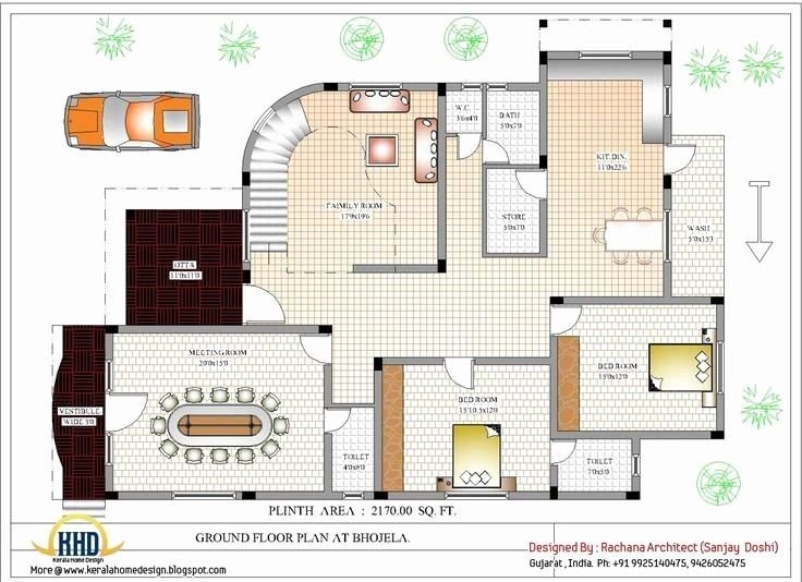 Simple Floor Plan Samples Awesome Sample Duplex House Plans India 2000 Sq Ft Homes 2000 Square Foot Of 21 Fresh House Blueprints Luxury House Plans Floor Plans