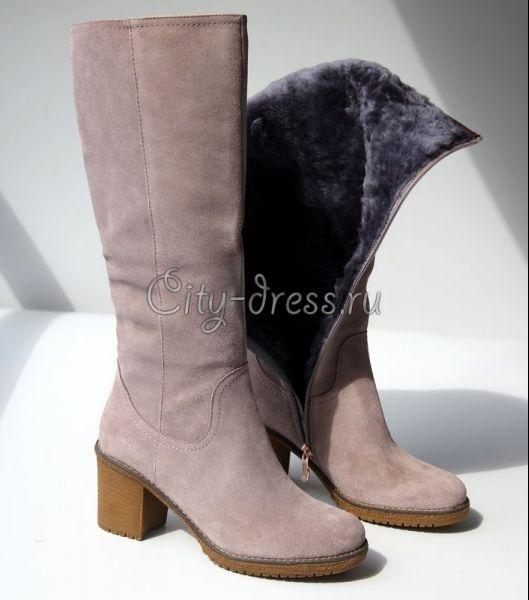 Картинки по запросу женские сапоги низкий каблук фото