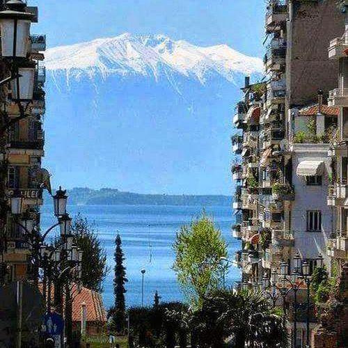 The beautiful Mount Olympus view from Thessaloniki. #greece #hellas #thessaloniki #mountolympus #greeklife #greek #greeks #greekgirl #visitgreece