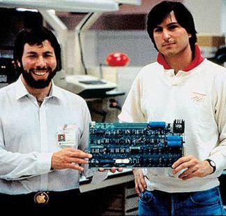 Apple Computer founded by Steve Wozniak and Steve Jobs introduced the Apple II