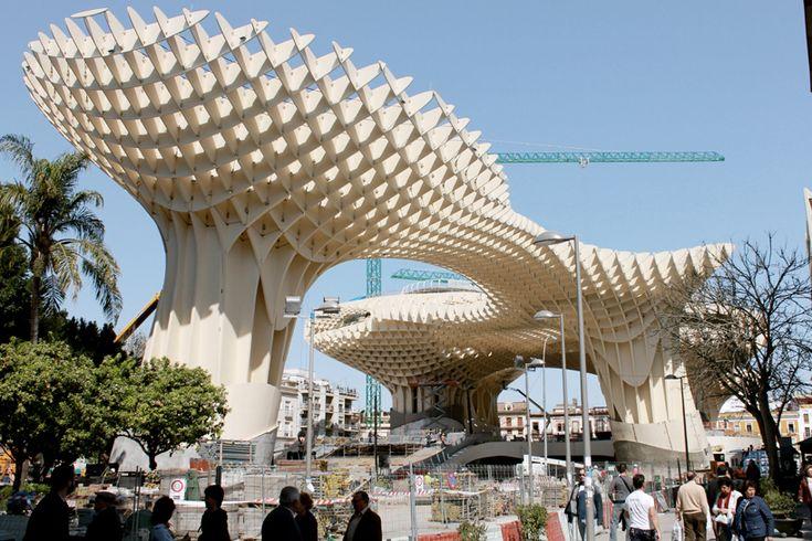 j. mayer h. architects: metropol parasol now complete
