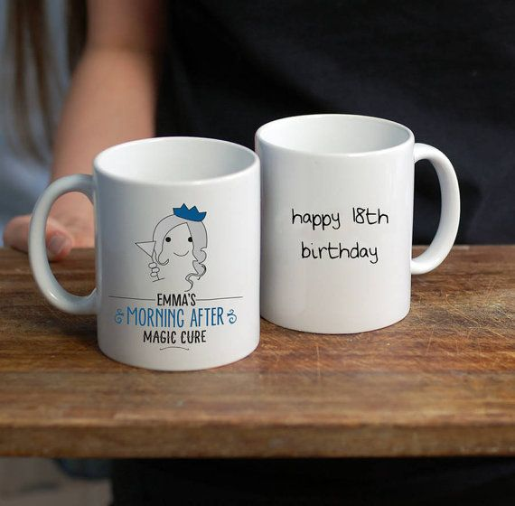 18th Birthday Hangover Cure Mug/ 18th Birthday Mug/ Eighteenth