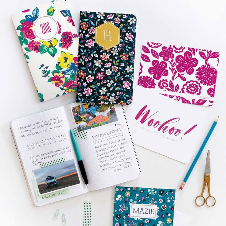 Fun And Functional May Designs Notebooks A Giveaway