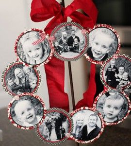 Photo Wreath | Valentine Craft Ideas | Great Family Photos — Country Woman Magazine