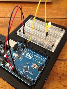 """When you first started learning how to develop for the Arduino, you probably built a product that works a little bit like this: Connected to your Arduino would be a single LED light. This would turn and off every second or so, and will continue until the Arduino is turned off.This is the """"Hello World""""…"""