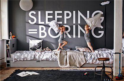 Bett mit Bettkasten, grau von de EEKHOORN 1