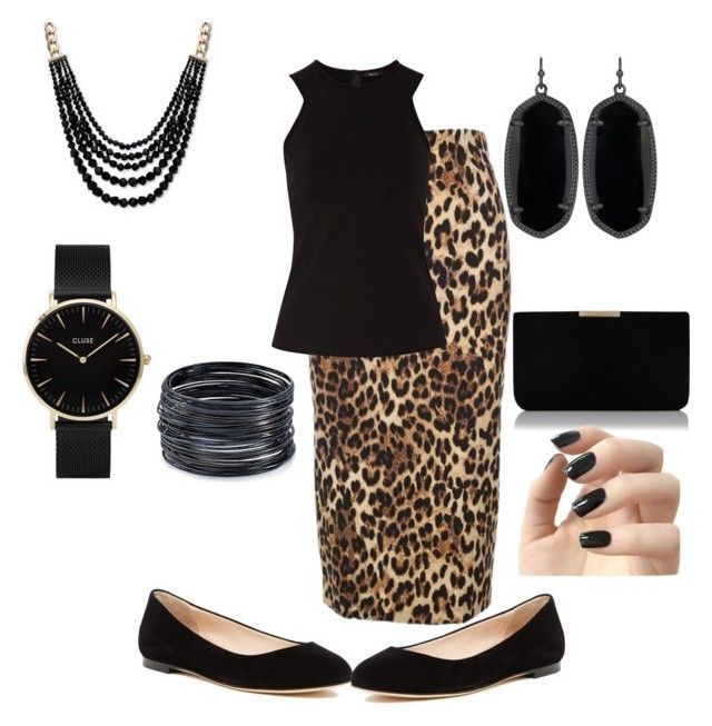 """""""CHEETAH OUTFIT"""" by aleckmhopkins on Polyvore featuring Alberto Biani, Raoul, Sergio Rossi, Kendra Scott, Anne Klein, L.K.Bennett, CLUSE, Incoco and ABS by Allen Schwartz"""