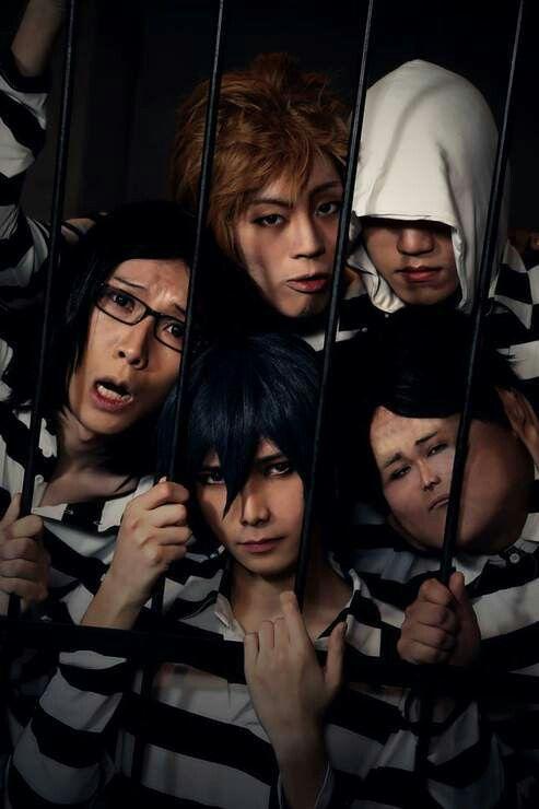 Prison School cosplay ~ Tsubasa (TBS-翼-) as Kiyoshi Fujino