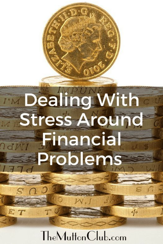 Tips for dealing with stress associated with financial problems later in life. How to help yourself or your parents and avoid potential pitfalls.